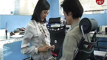 Cute Chinese Korean Girl Play with BBCS