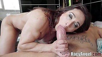 MILF gives hot jov sex for cash Joana Angel Yasmin Scott