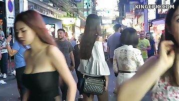 Hot Thai teen teases hirsute feet