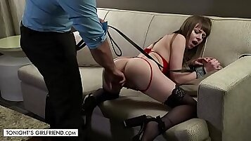 Alex Blake and Anthony Rosano is having some BDSM fuck