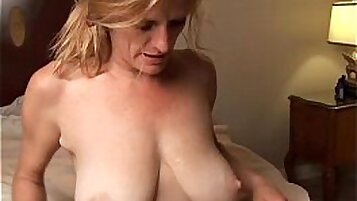 Young slut babe fucked hard with a facial cum